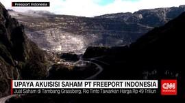 Upaya Akuisisi Saham PT Freeport Indonesia