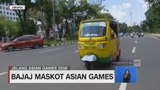 Inilah Bajaj Maskot Asian Games 2018