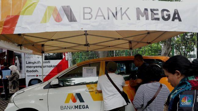 MEGA Harga Saham Terbang, Market Cap MEGA Nyaris Rp 100 T