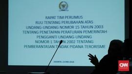 Pemerintah Sepakat Bawa RUU Terorisme ke Rapat Paripurna