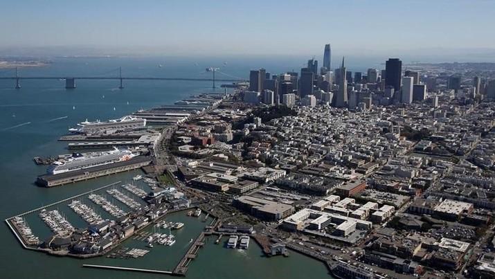 Kota San Fransisco di AS mengumumkan kondisi darurat corona.