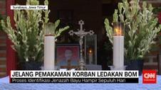 Jelang Pemakaman Korban Ledakan Bom