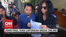 Namanya Dicatut, Mantan Gitaris Boomerang Laporkan Media Onli