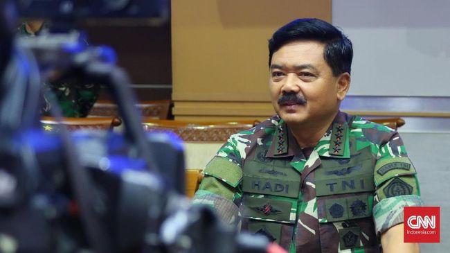 Panglima TNI Naikkan Pangkat 41 Perwira Tinggi