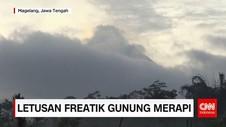 Letusan Freatik Gunung Merapi Kembali Terjadi