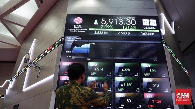 Penyusutan Investasi Asing Jungkalkan IHSG ke 5.769