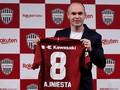 Andres Iniesta Resmi Gabung Vissel Kobe
