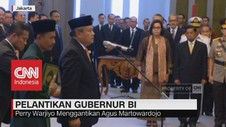 Perry Warjiyo Resmi Menjabat Gubernur BI