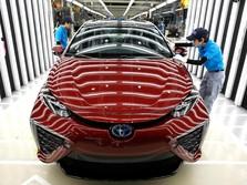 Toyota Kembangkan Mobil Listrik di RI, Saingi Mitsubishi