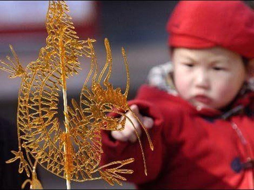 Keren! Gulali Karamel ala China Ini Seindah Karya Seni