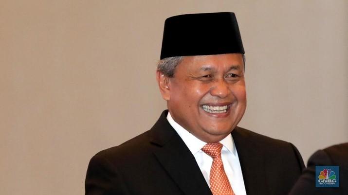 Gubernur Bank Indonesia (BI) Perry Warjiyo optimistis nilai tukar rupiah terhadap dolar AS akan kembali menguat.