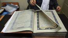 Alquran Sutra Langka Pelestari Seni Kaligrafi