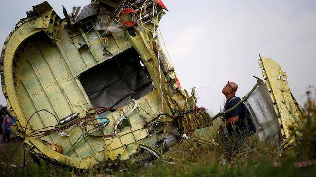 Penyelidik Sebut Rudal Rusia Tembak Jatuh Pesawat MH17