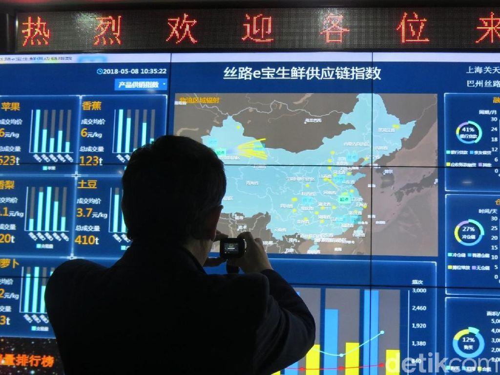 Membangun Cloud Economy di Pusat Jalur Sutra China