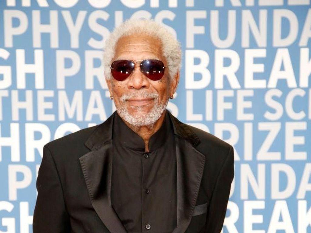 Pengakuan Jurnalis yang Dilecehkan Morgan Freeman saat Hamil 6 Bulan