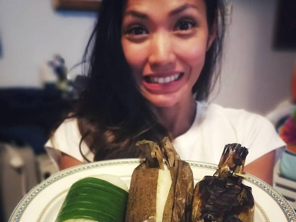 Walau Puasa di Hong Kong, Shanty Paredes Pilih Sajian Tradisional Untuk Berbuka
