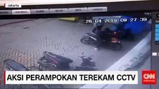 Aksi Perampokan Terekam CCTV