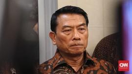 Moeldoko: Petugas KPPS Tewas Diracun Pernyataan Sesat