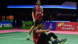 Indonesia Gagal Final Piala Thomas, Ahsan/Hendra Minta Maaf
