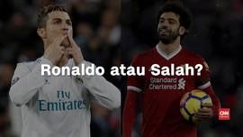 VIDEO: Pilih Ronaldo atau Salah di Final Liga Champions?