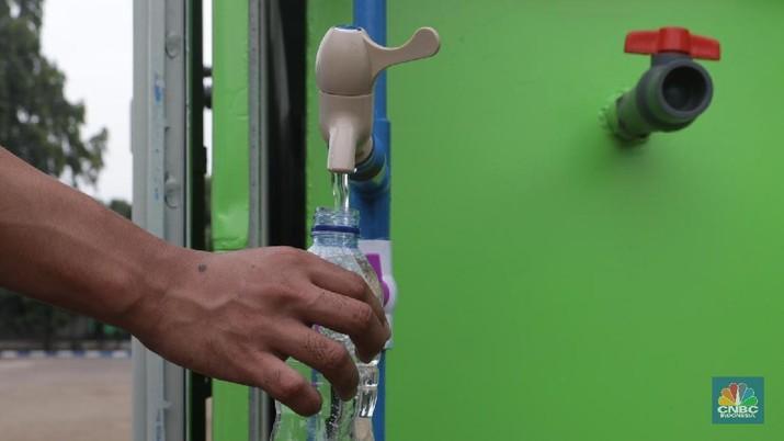 Belum 100% Rakyat RI Dapat Akses Aman Air Minum