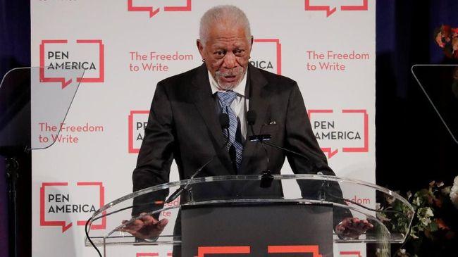 Dituduh Lakukan Pelecehan, Morgan Freeman Minta Maaf