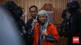 Vonis Aman Abdurrahman, TNI-Polri Kerahkan 378 Personel