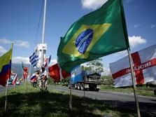 Jaring Gawang Saksi Kekalahan Brasil 7-1 Dijual untuk Amal