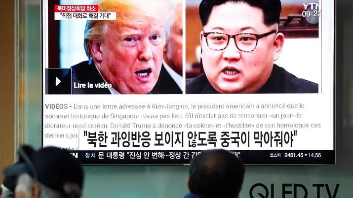 Presiden AS Donald Trump mengatakan militer AS
