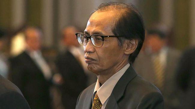 Artidjo Enggan Komentari Pengajuan PK Anas Urbaningrum