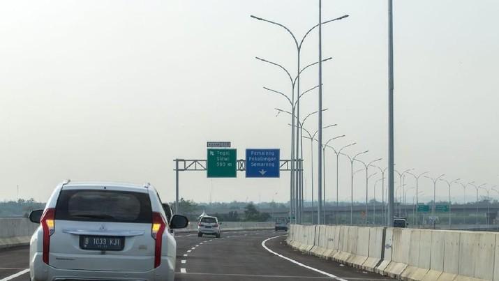 Sah! Jalur Mudik Tol Trans Jawa Diberlakukan Satu Arah