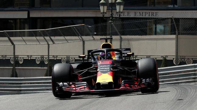 Ricciardo Tercepat, Red Bull Dominasi FP I GP Singapura