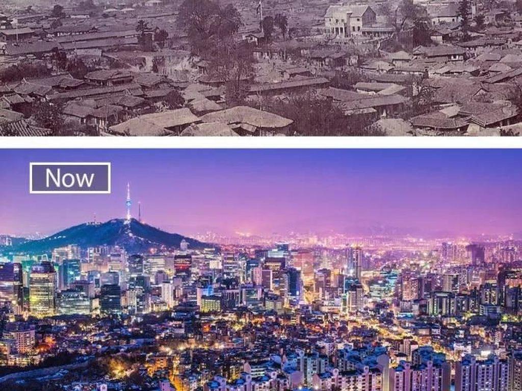 Potret Perbandingan Drastis Dulu Sekarang Kota-kota di Dunia