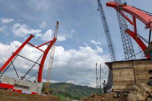 Foto: Jembatan Kali Kuto Bisa Dilewati H-2 Lebaran