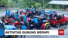 Wisatawan di Sekitar Gunung Merapi
