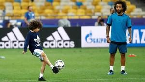FOTO: Latihan Terakhir Jelang Final Liga Champions 2018