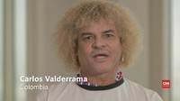 VIDEO: Kesan Valderrama pada Brasil di Piala Dunia 1970