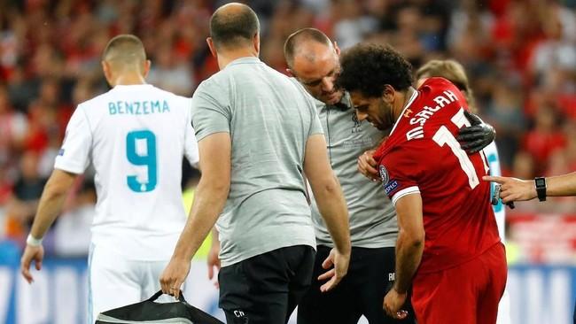 Cedera di Final Champions, Salah Bisa Absen di Piala Dunia