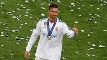 Ronaldo Klaim Niatnya Pergi dari Madrid Bukan Karena Uang