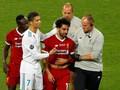 Cedera Bahu, Salah Menangis di Final Liga Champions 2018