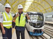 LRT Palembang Sepi, Menhub Usul Promo PNS Pakai Sepuasnya