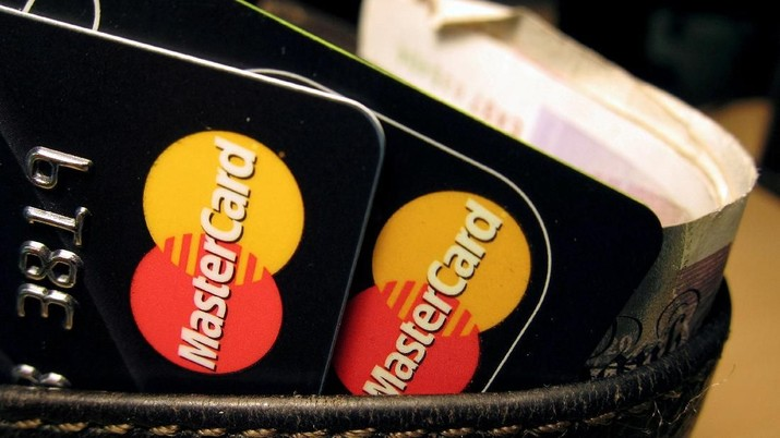 FILE PHOTO: MasterCard credit cards are seen in this illustrative photograph shot December 8, 2010. REUTERS/Jonathan Bainbridge/Illustration/File Photo