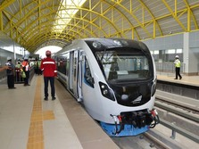 LRT Palembang Gratis Selama Asian Games 2018