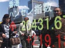 Ekonomi Melambat, Shanghai dan Hang Seng Anjlok
