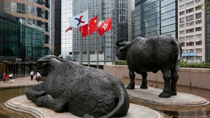 Menanti Data Ekspor, Indeks Shanghai & Hang Seng Terkoreksi