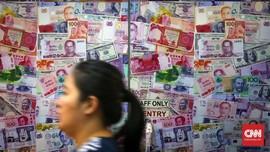 Minim Sentimen, Rupiah Melemah Tipis ke Rp14.082 per Dolar AS