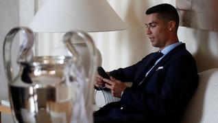 Polisi Minta DNA Cristiano Ronaldo Terkait Dugaan Perkosaan