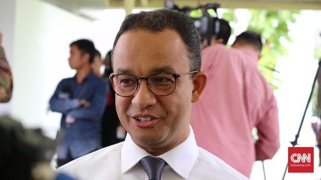Anies Soal Pilpres 2019: Saat Ini Saya Masih Gubernur DKI