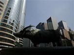 Bursa Hong Kong Menghijau Saat Jeda, Ditolong Wall Street