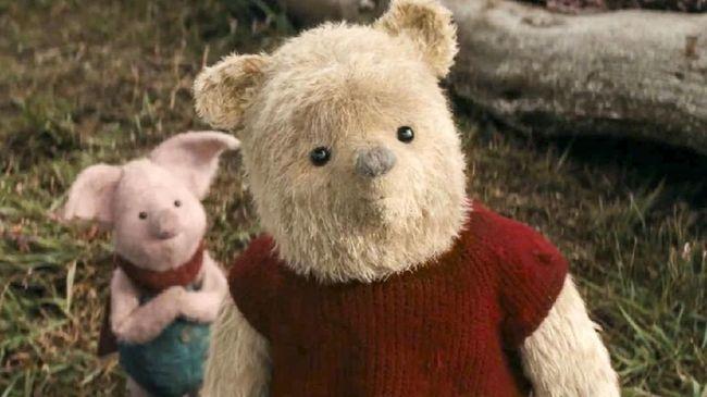 Winnie the Pooh Bertualang ke Kota di 'Christopher Robin'